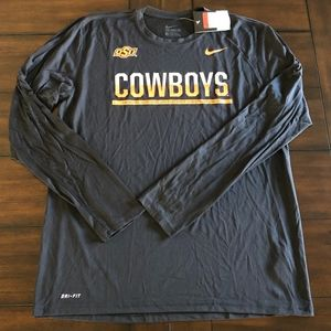 Nike Dri-Fit Longsleeve OSU OKLAHOMA STATE shirt L